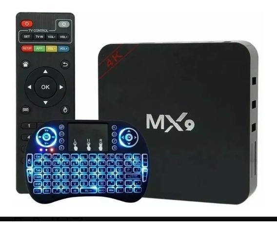 Tv Box Mais Mini Teclado Led