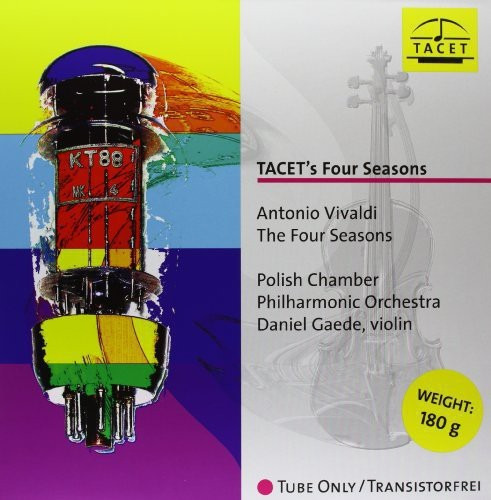 A. Vivaldi Tacets Four Seasons Vinilo Lp Us Import