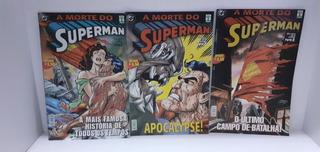 10hqs Lote Super-homem Apocalypse A Revanche O Retorno Morte