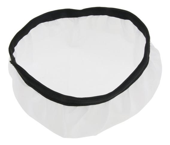 7 Fotografia Estúdio Iluminação Soft White Nylon Difusor Cap