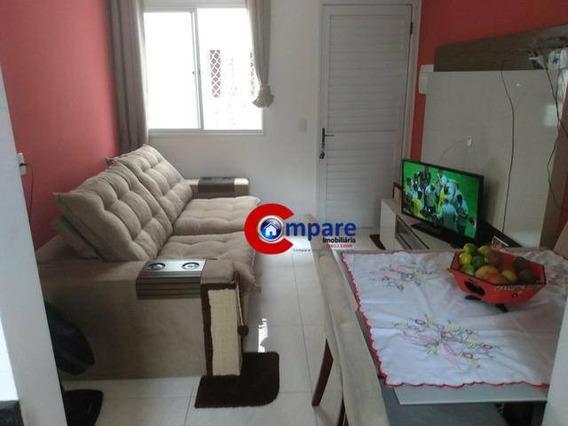 Apartamento Com 2 Dormitórios À Venda, 40 M² Por R$ 250.000 - Bonsucesso - Guarulhos/sp - Ap8669