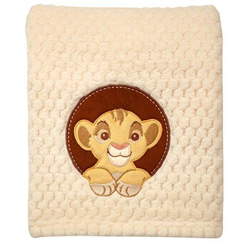 Imagen 1 de 1 de Manta De Lana De Coral Disney Lion King Popcorn Coral