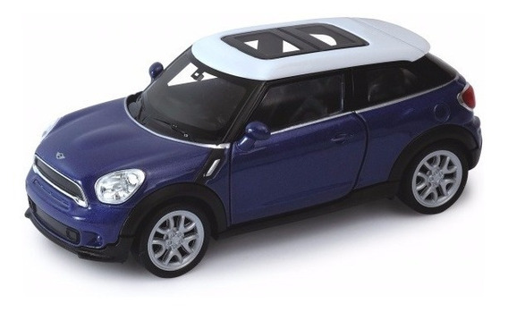 Auto Welly Mini Cooper Spaceman Colección Escala 1:36