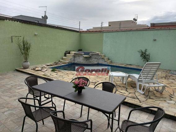 Casa Com 2 Dormitórios À Venda, 265 M² Por R$ 650.000,00 - Jardim Fazenda Rincão - Arujá/sp - Ca1075