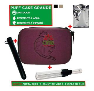 Case Puff Life Estojo Clássico + Porta Cigarro Brinde