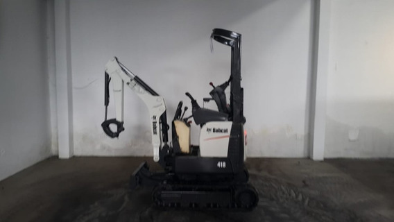 Mini Escavadeira Bobcat 418 Ano 2015 Com 790.4h