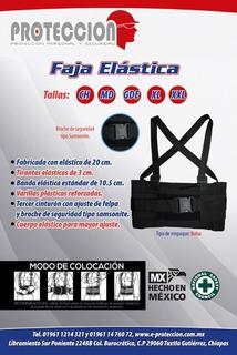 Faja Elastica Con 3er Cinto Y Broche Proteccion