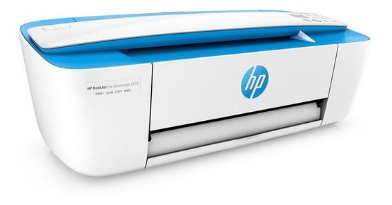 Impressora Multifuncional Wireless Hp 3776 Azul - J9v88a-ak4