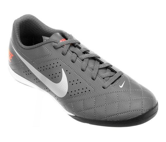 Chuteira Futsal Nike Beco Grafite E Branco - Original