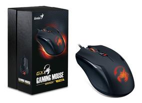 Mouse Genius Rs Ammox X1-400 Optical 4 Botoes Com Macro