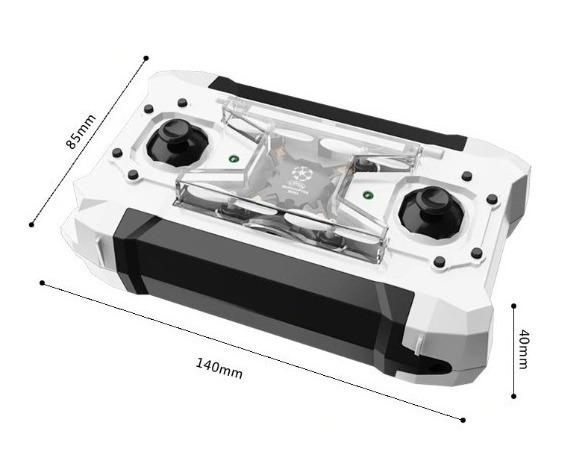 Mini Drone Fq777 Pocket 124 100%original Pronta Entrega
