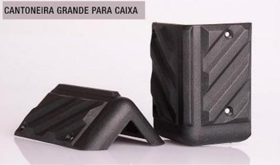 Cantoneiras Grande P/ Caixa De Som Acústico - 16 Unidades