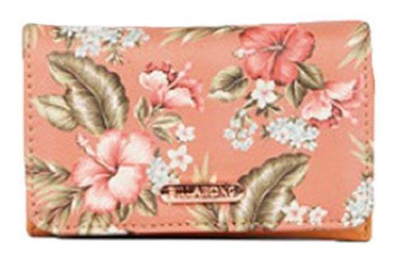 Billetera Billabong Sandy Wallet Cork Mujer Rosa