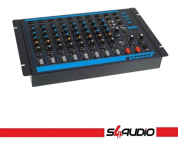 Mesa De Som - Omx 8 + 1 Aux. Dvd/cd/mp3-4