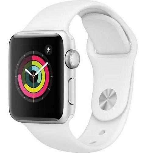 Relógio Apple Watch Series 3 Gps 38mm Silver Alumínio Puls