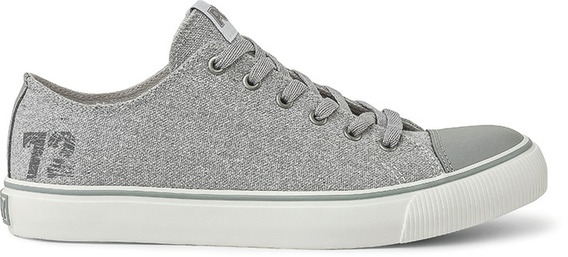 Zapatillas Pony Pony 72 Ox Canvas/leather Gris-po330016
