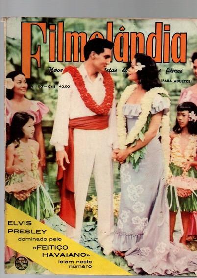 Revista Filmelândia Elvis Presley Feitiço Havaiano Nº 90