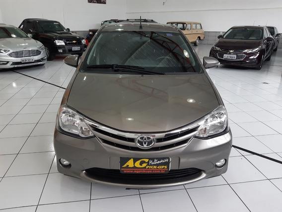 Toyota Etios Sedan Xls 1.5 Flex Autom Couro Ud 40000 Km