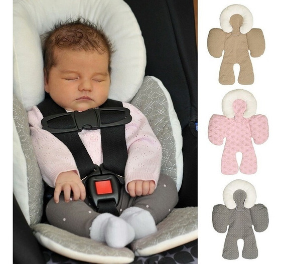 Apoio De Corpo Reversível Para Bebê Conforto E Carrinho