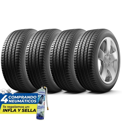Kit 4 Neumáticos Michelin 285/45r19 111w Latitude Sport 3 Zp