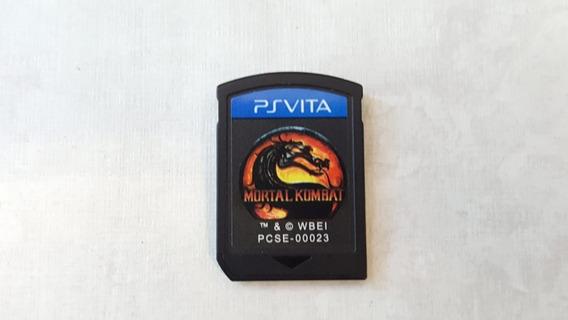 Mortal Kombat 9 - Ps Vita - Original - Sem Capa