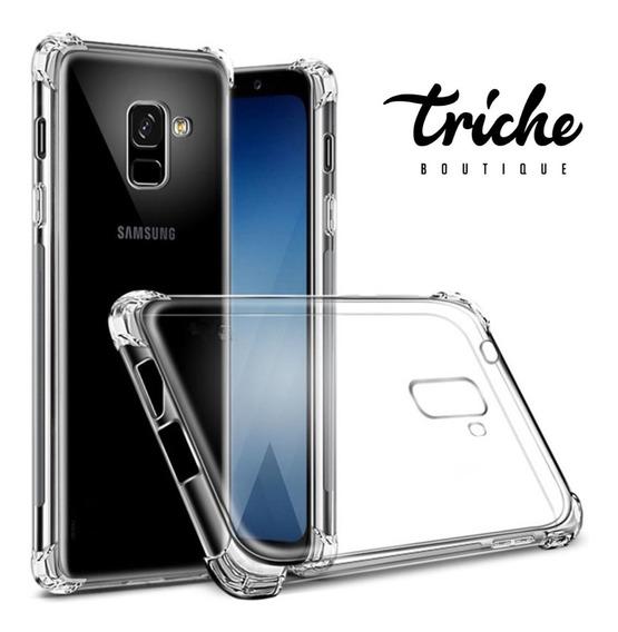 Funda Case Transparente Resistente Antishock Galaxy A8 2018