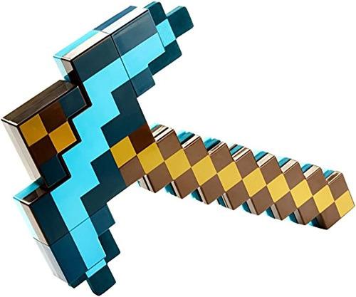 Minecraft Espada Y Pico Transformador