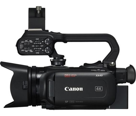 Filmadora Profissional Canon Xa40 Uhd 4k30