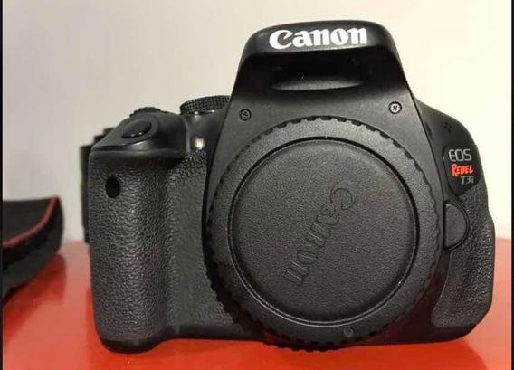 Câmera T3i Cânon + Kit 18/55 E Tripé Argus