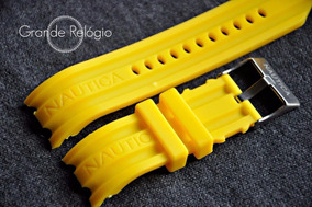 Pulseira Nautica 24mm Amarela