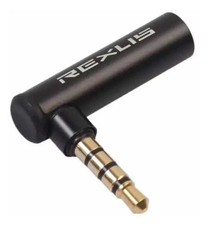 Adaptador 3.5mm Mic 90 Graus P/ Osmo Móbile E Zhiyun 4 Carta