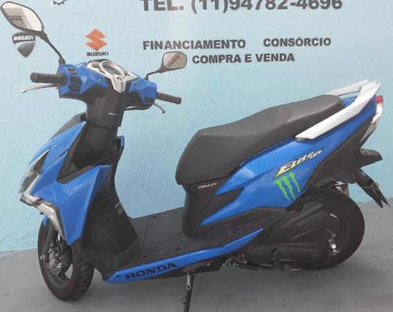 Honda Elite 125 2019 Azul