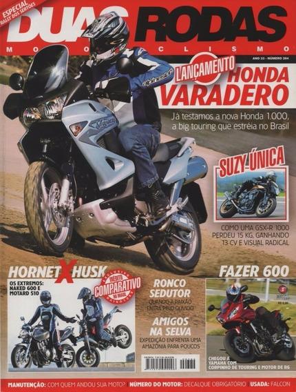 Duas Rodas N°384 Honda Varadero Hornet Husk Yamaha Fazer 600