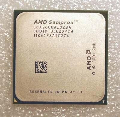Processador Amd Sempron 2600 754 Pinos