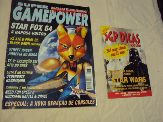 Revista Super Gamepower Número 39 + Spg Dicas Capa Star Wars