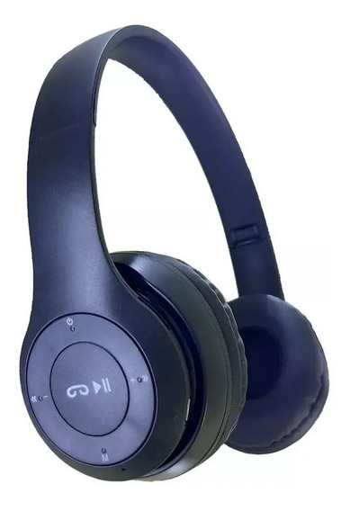 Fone De Ouvido Sem Fio Bluetooth Com Microfone Gt-p47 Musica