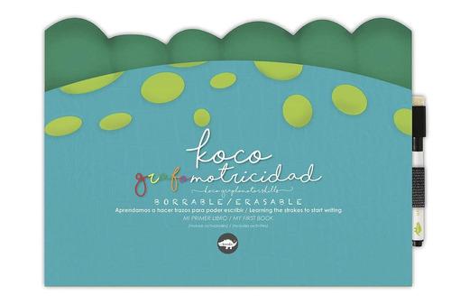 Libro Borrable Koco Grafomotricidad - Kocodío