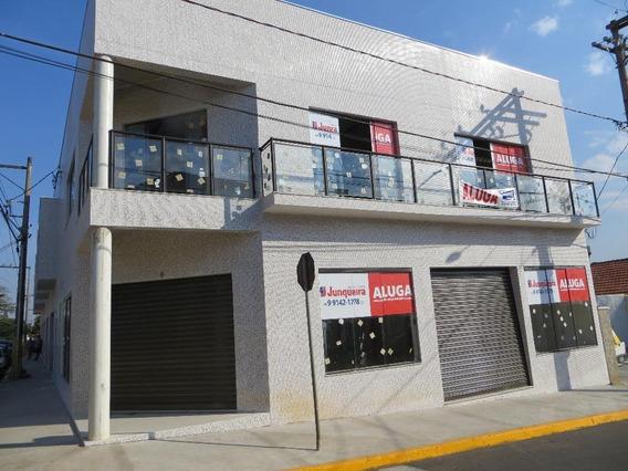 Salão Comercial Para Locação, Santa Cruz, São Pedro. - Sl0183