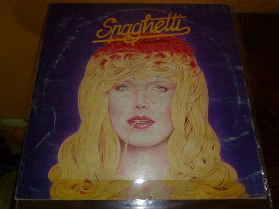Lp Vinilo - Spaghetti En Español - Italo Dance 86- Excelente