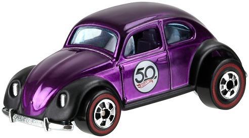 Miniatura Vw Fusca Hot Wheels 50 Anos Novo / Lacrado !!!