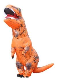 Fantasia Inflável Dinossauro T-rex