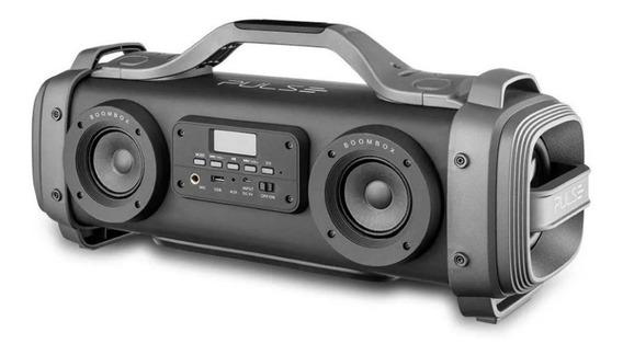 Caixa Acústica Multilaser Mega Boombox Pulse 440w Sp363