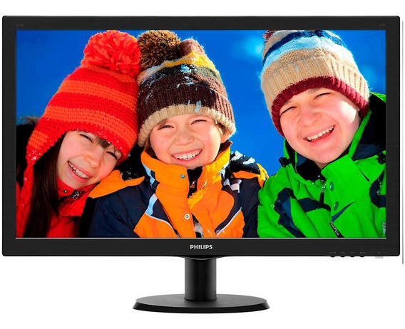 Monitor Lcd Led Wide 27 Philips 273v5lhab/57 Preto