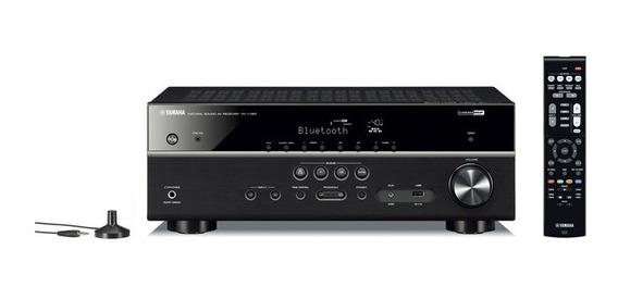 Receiver Yamaha Rx V385 5.1 Canais Bibolt/blu/usb