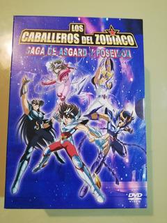 Los Caballeros Del Zodiaco - Saint Seiya Dvd Orginales