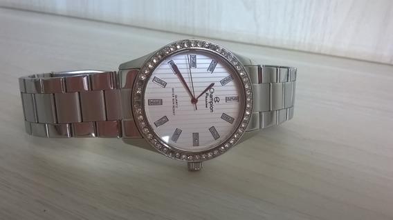 Lindo Relógio Champion Modelo Clássico 50 Metros