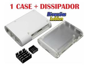 Case Caixa P/ Rapsberry Pi 3 B + Dissipador Melhor Preço
