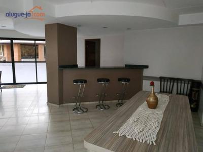 Locação De Apartamento De 3 Dormitórios, 1 Suite, 2 Vagas De Garagem, Condomínio Solar Aquárius - São José Dos Campos - Sp - Ap6526