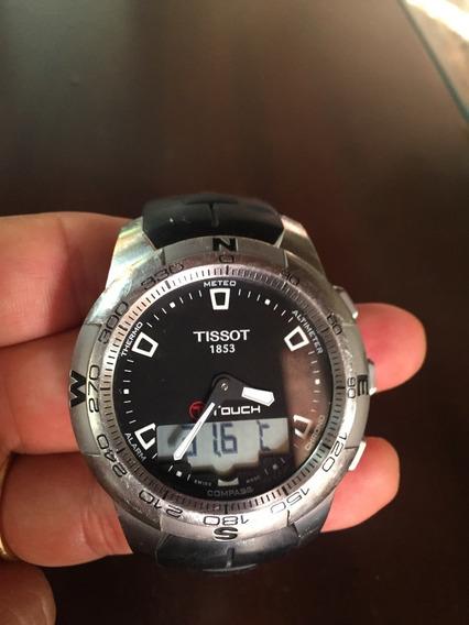 Relógio Tissot T-touch - Revisado Pela Tissot Em 03/04/2018.
