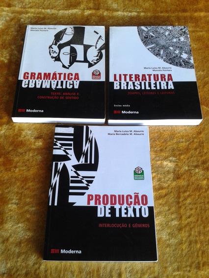 Gramática Literatura E Redação ( Maria Luiza E Marcela )